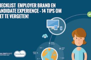 Checklist Employer Brand en Candidate Experience